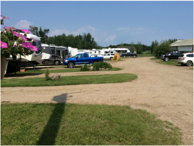 Full hookup campgrounds in alberta