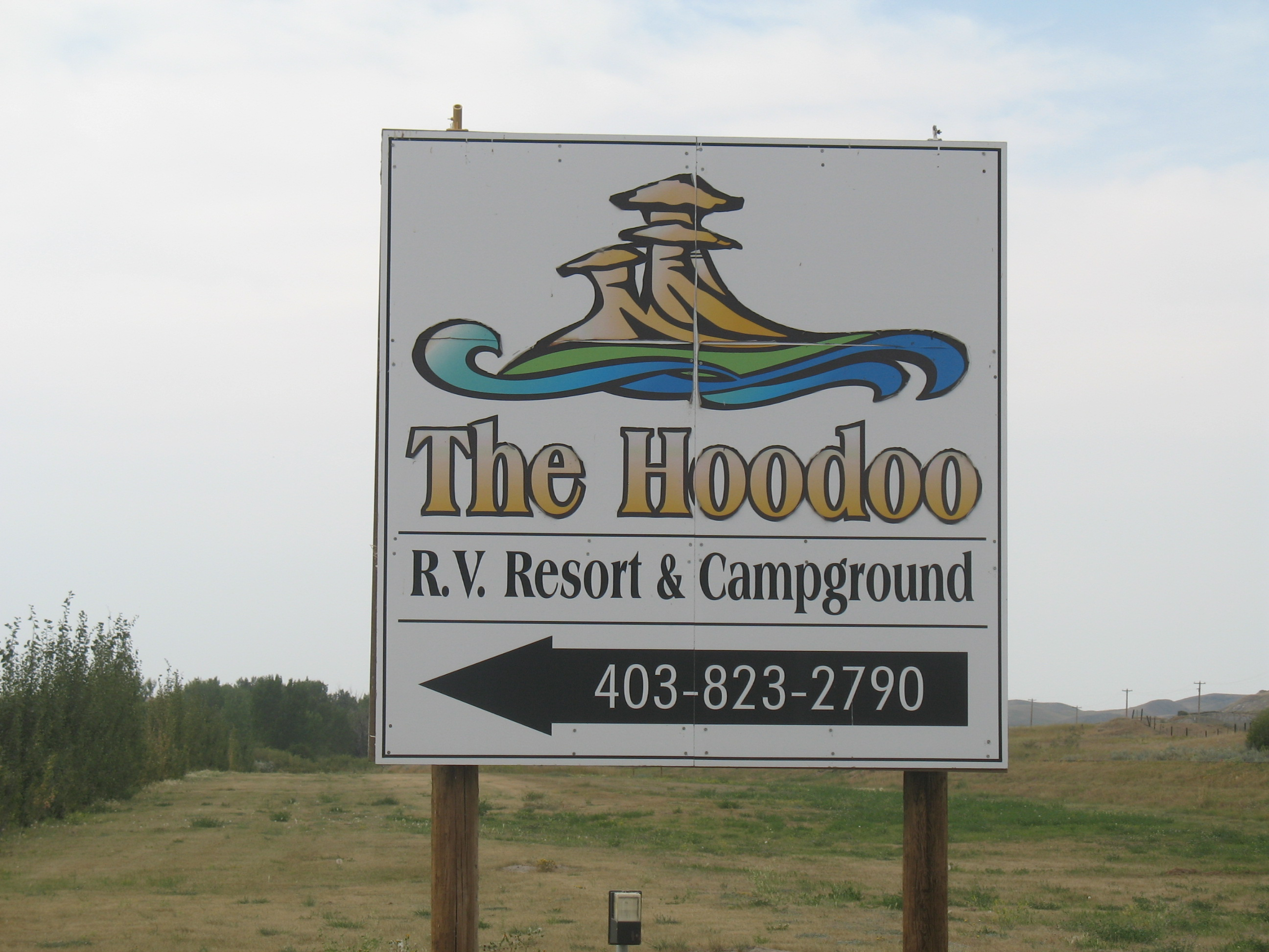 The Hoodoo RV Resort & Campground - Alberta Campsites com